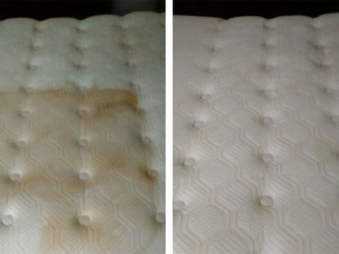 Mattress Cleaning Before and After 1