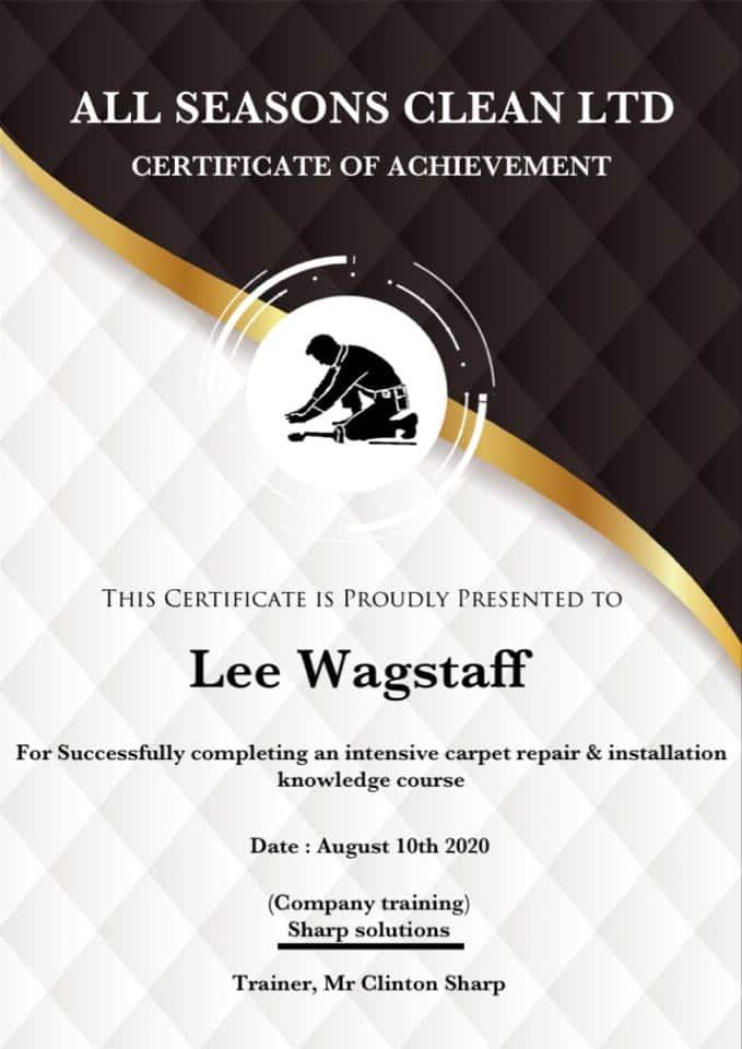 Carpet-repair-certificate